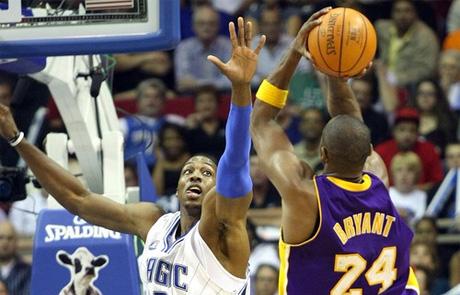 Dwight Howard és Kobe Bryant