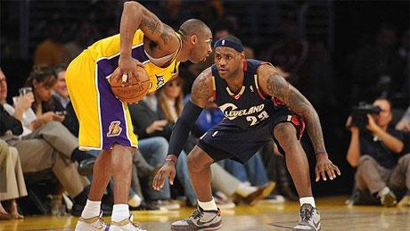 LeBron James és Kobe Bryant